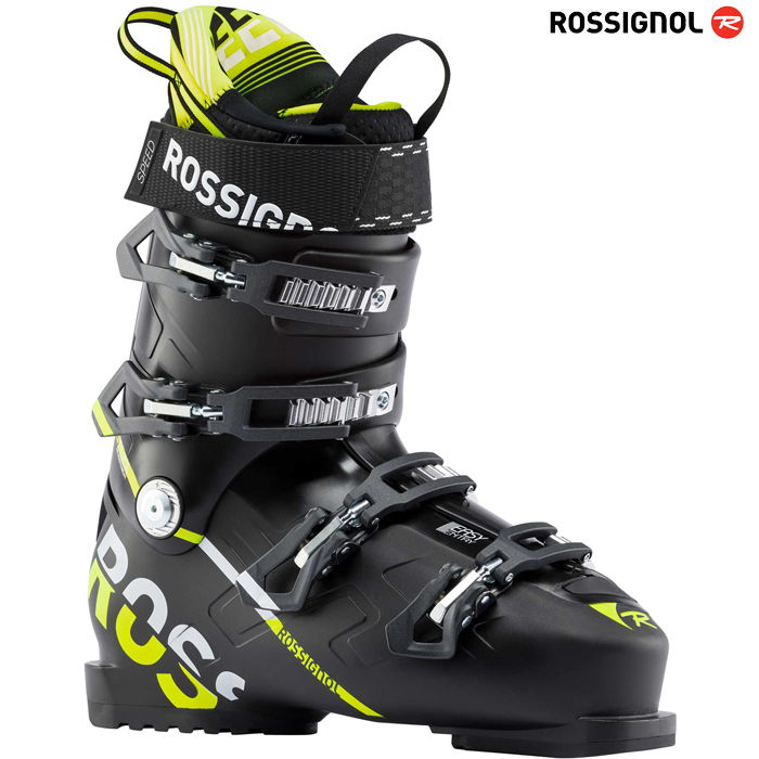 로시놀 스키부츠 ROSSIGNOL SPEED 100(BLACK YELLOW)(18/19)