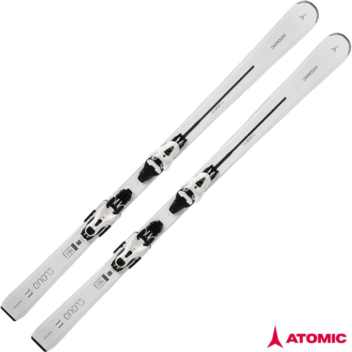 아토믹 스키 ATOMIC CLOUD 11  WHT + E FT 11 GW Wht/Bk (18/19)