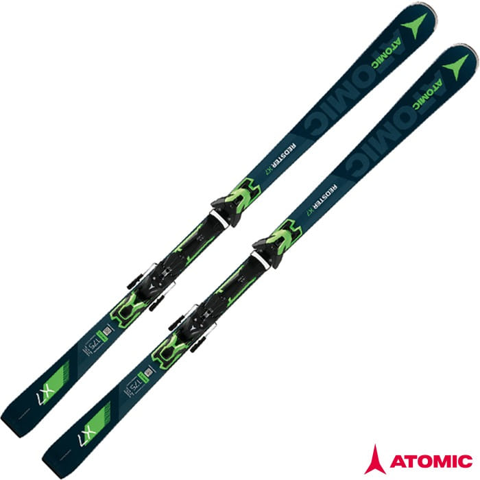 아토믹 스키 ATOMIC REDSTER X7 + E FT 12 GW Bk/Green (18/19)