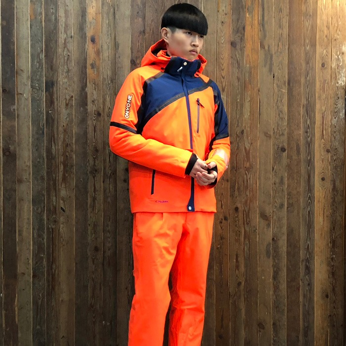 온요네 스키복 ONYONE DEMO OUTER  JK + PT(ORANGE) (18/19)