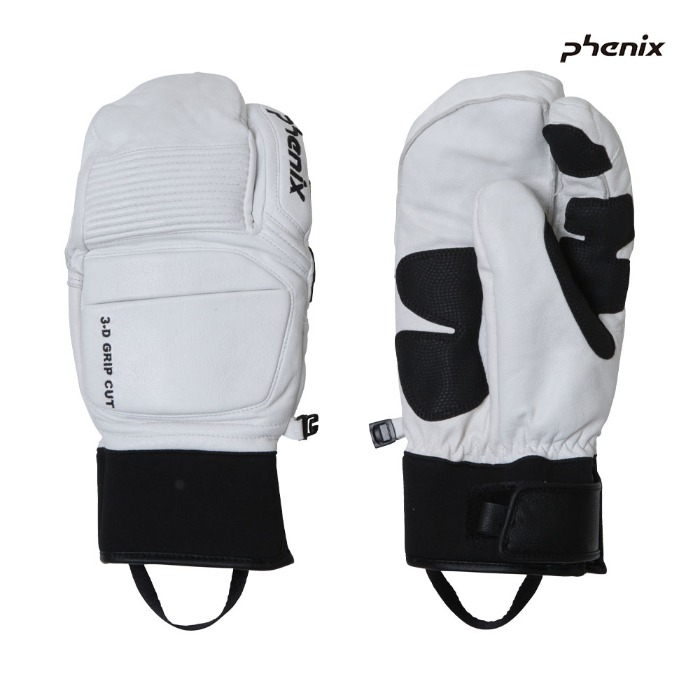 피닉스 스키장갑 PHENIX Tri-Finger Leather Gloves(WH) (19/20)