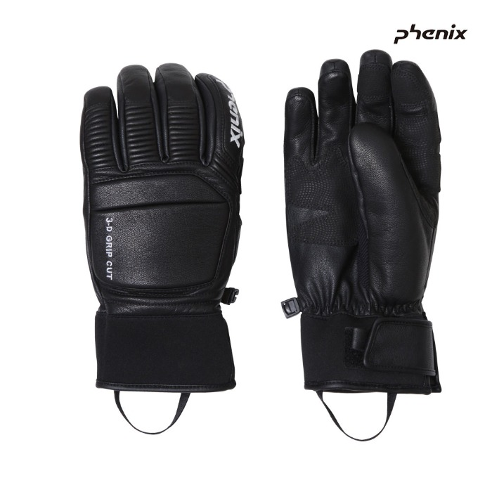 피닉스 스키장갑 PHENIX Formula Leather Gloves(BK) (19/20)
