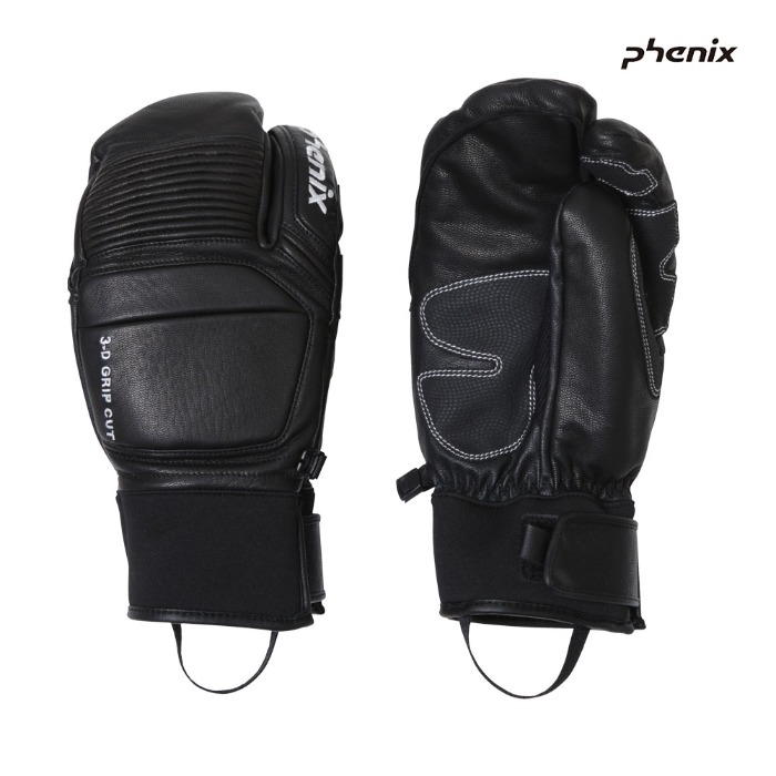 피닉스 스키장갑 PHENIX Tri-Finger Leather Gloves(BK) (19/20)