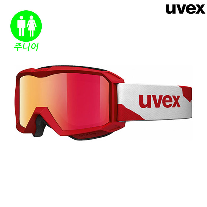 우벡스 스키 고글 UVEX flizz LM RED MAT-RED(18/19)