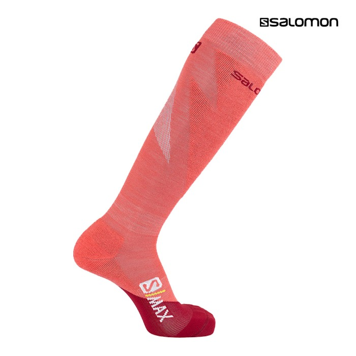 살로몬 양말 SOCKS S/MAX W Rio Red(1920)