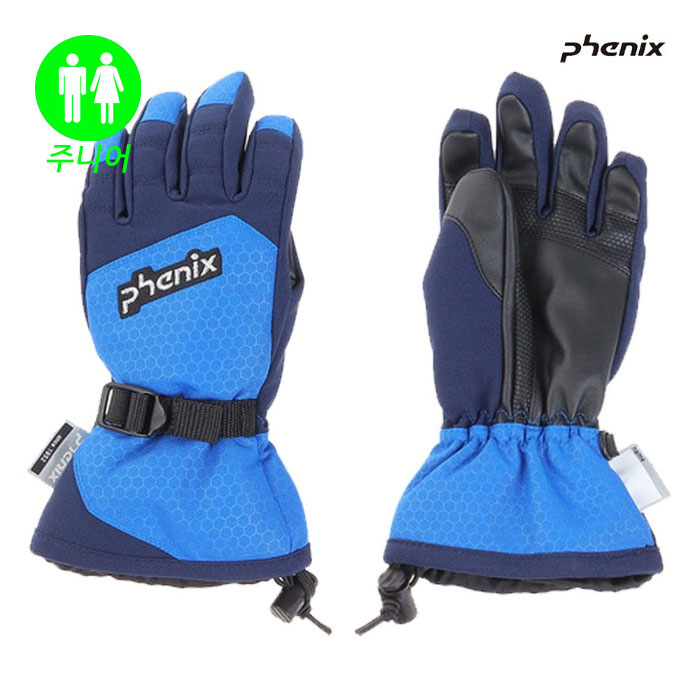 피닉스 주니어 스키장갑 PHENIX Demonstration  Boy's Gloves(BL) (19/20)