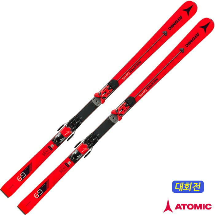 아토믹 스키 ATOMIC REDSTER G9 RS Red Servotec + X 16 VAR Rd/Bk (18/19)